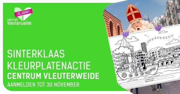 Centrum-Vleuterweide-Sinterklaas-kleurplatenactie